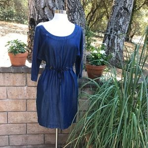 Light denim summer dress